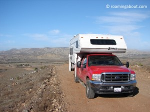 Exploring Mexico by truck camper