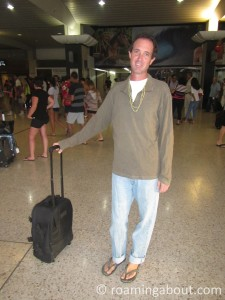 Sending Mark off from Tahiti to the US for surgery and treatment