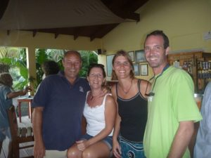 Reunion with our best cruising friends Sim and Rosie (SV Wandering Star) in Grenada