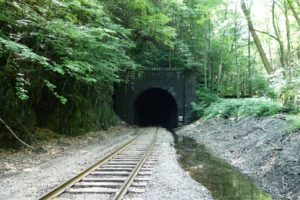 Approaching Hoosac Tunnel from the east