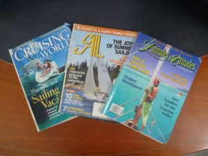 (Dated) American sailing magazines