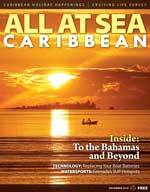 All At Sea December 2014 issue - cover